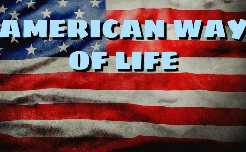 American way of life